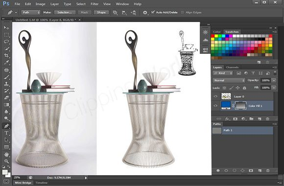 Advance Clipping Path image sample