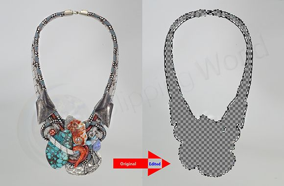 Medium Background Removing before after image; Photo sample for eCommerce photographer