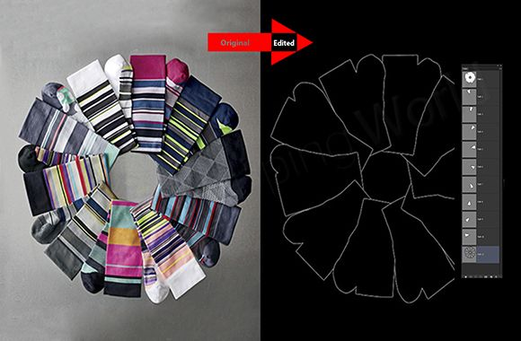 Clothing Multi Clipping Path sample image