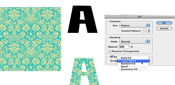 New Scripted Patterns in Photoshop CS6