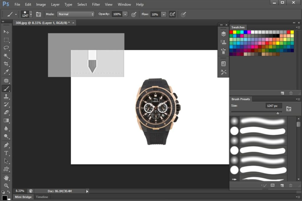 Rich Painting Tool set in Photoshop CS6