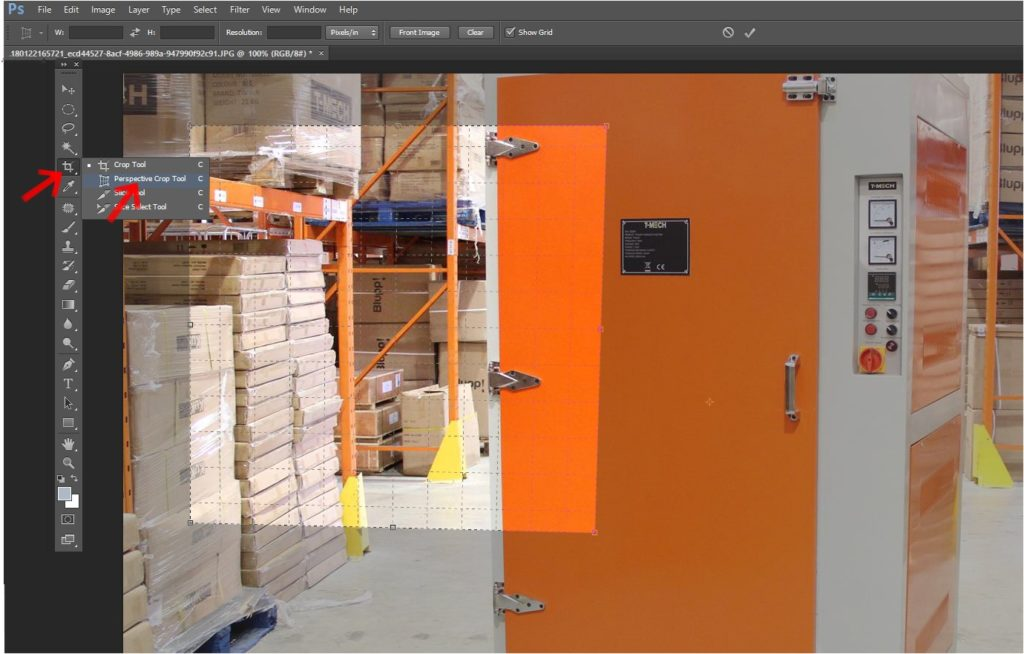 The Perspective Crop Tool in Photoshop CS6
