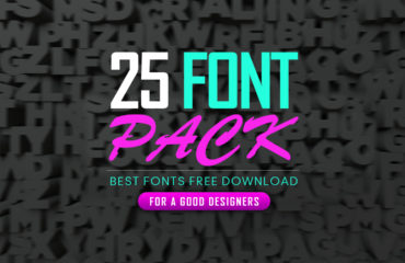 Best 25 Fonts for Graphic Designer
