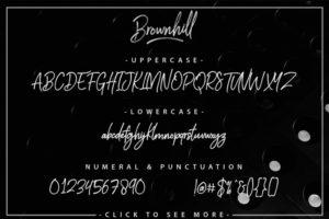 Brownhill font