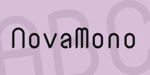 Nova Mono