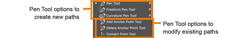 Photoshop Pen Tool Options