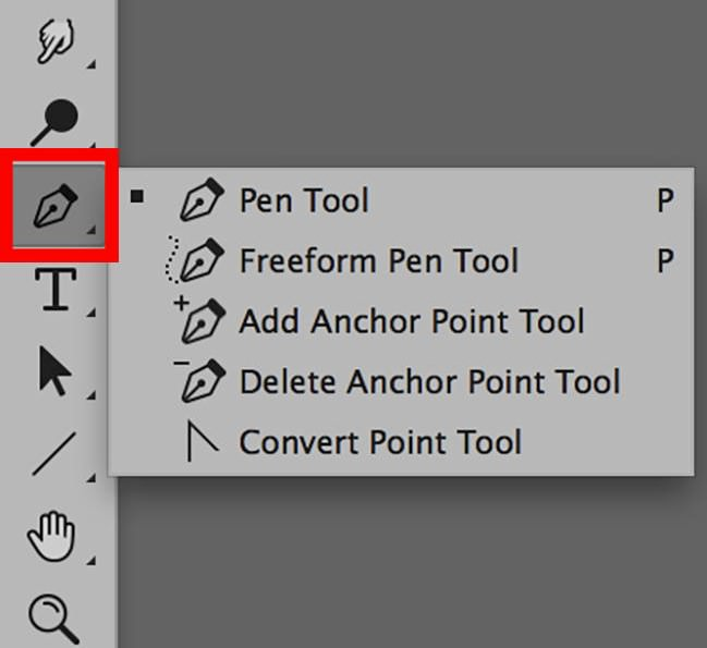 Photoshop Pen Tool Panel