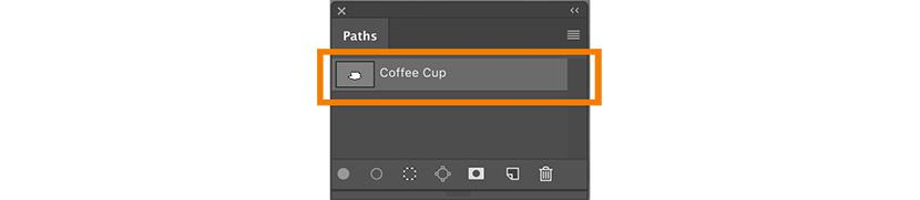 Renamed the path layer | Photoshop Pent Tool