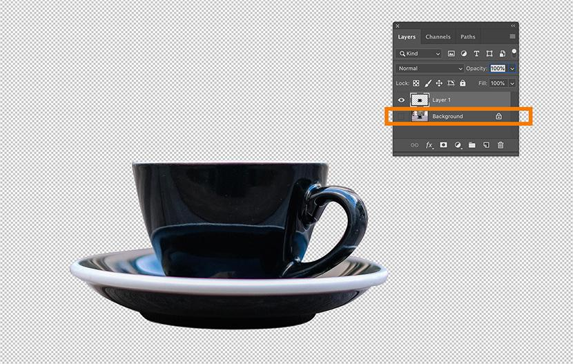 Separate the image object from Background layer | Photoshop Pent Tool