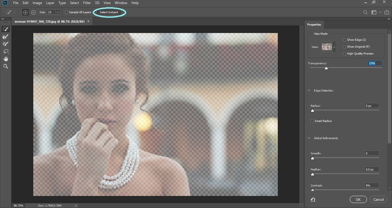 2X Faster Selecting the Subject 1_Clipping World