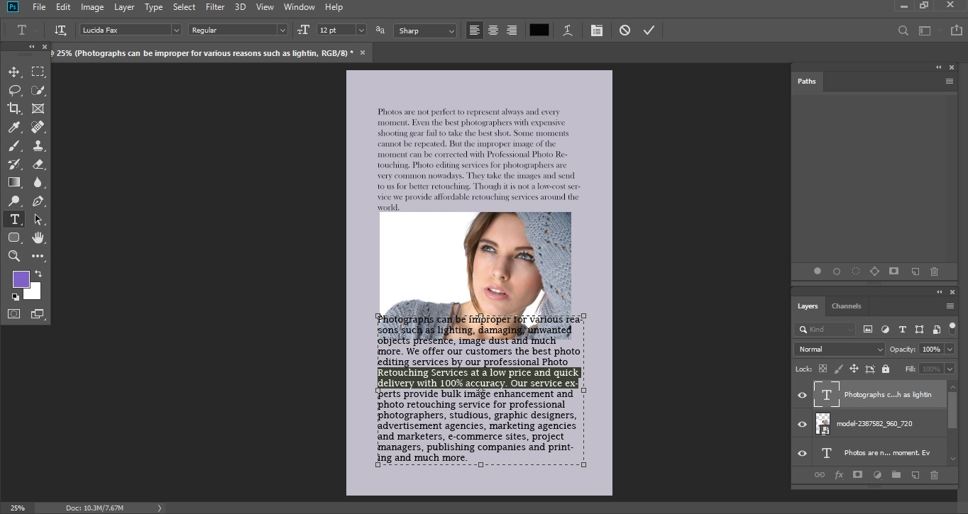 Editing Text 2_Clipping World