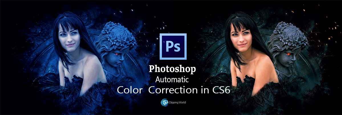 Automatic Color Correction in Photoshop CS6