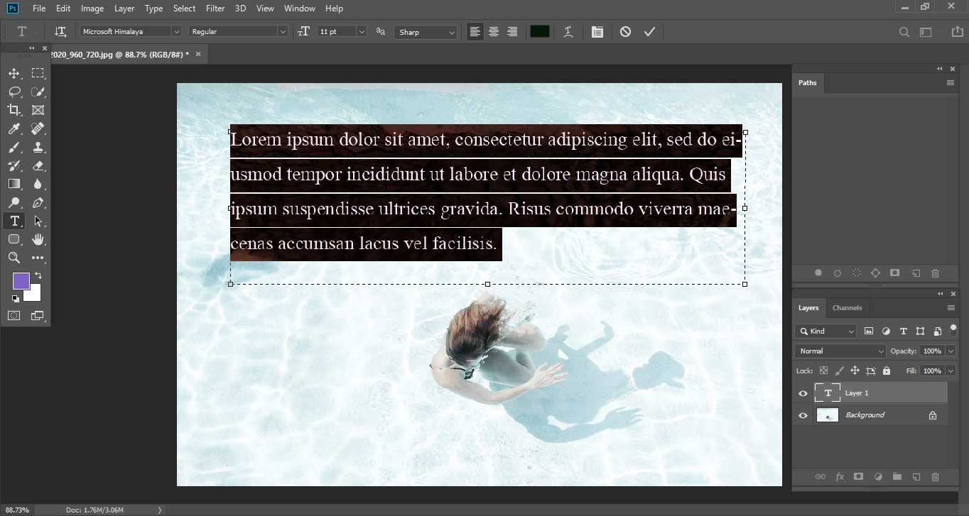 Sample Text by Default 2_Clipping World