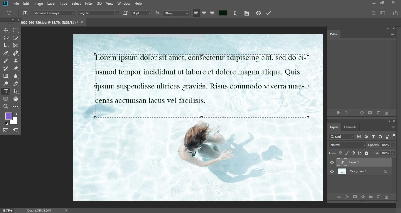 Sample Text by Default 3_Clipping World