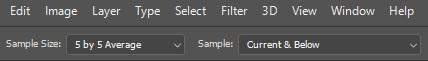 Polishing Sample Settings