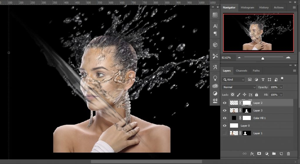 Images placing _ Double Exposure Effects in Photoshop