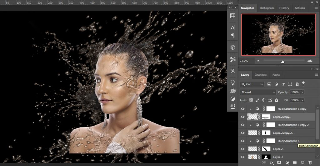 Copy in multiple _ Double Exposure Effects in Photoshop
