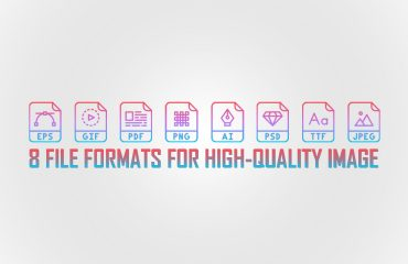 8 File formats for high-quality image