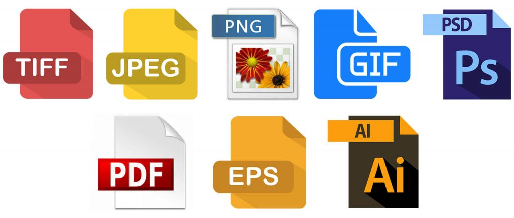 File formats logos - 8 File formats