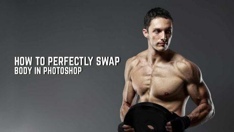 Swap body in Photoshop