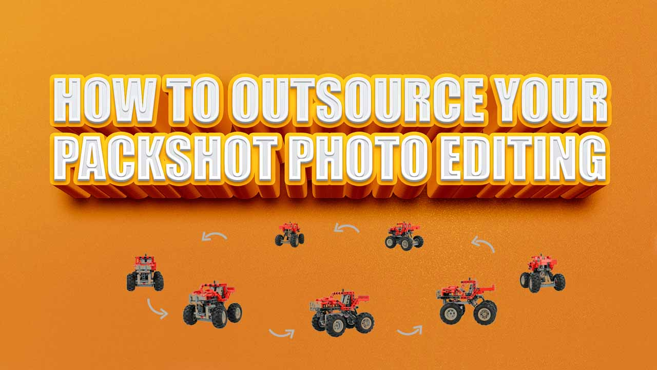 How To Do Packshot Photo Editing Outsourcing