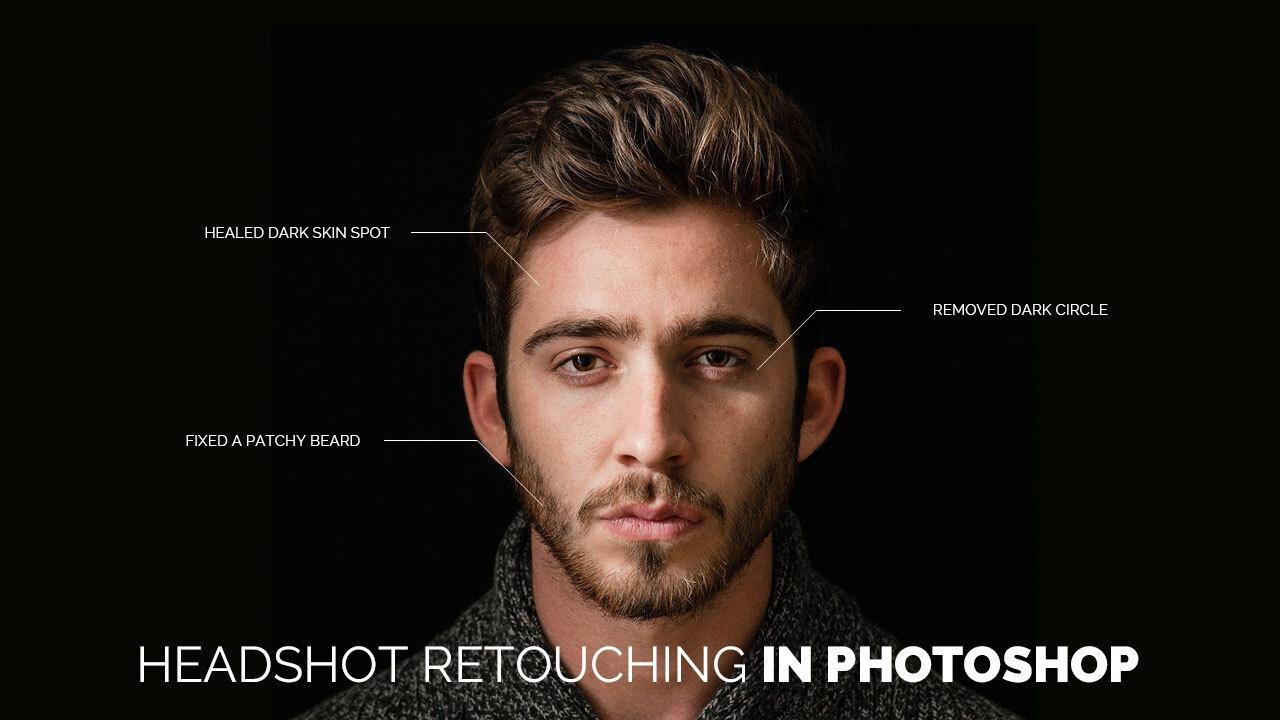 How To Do Headshot Retouching In Photoshop