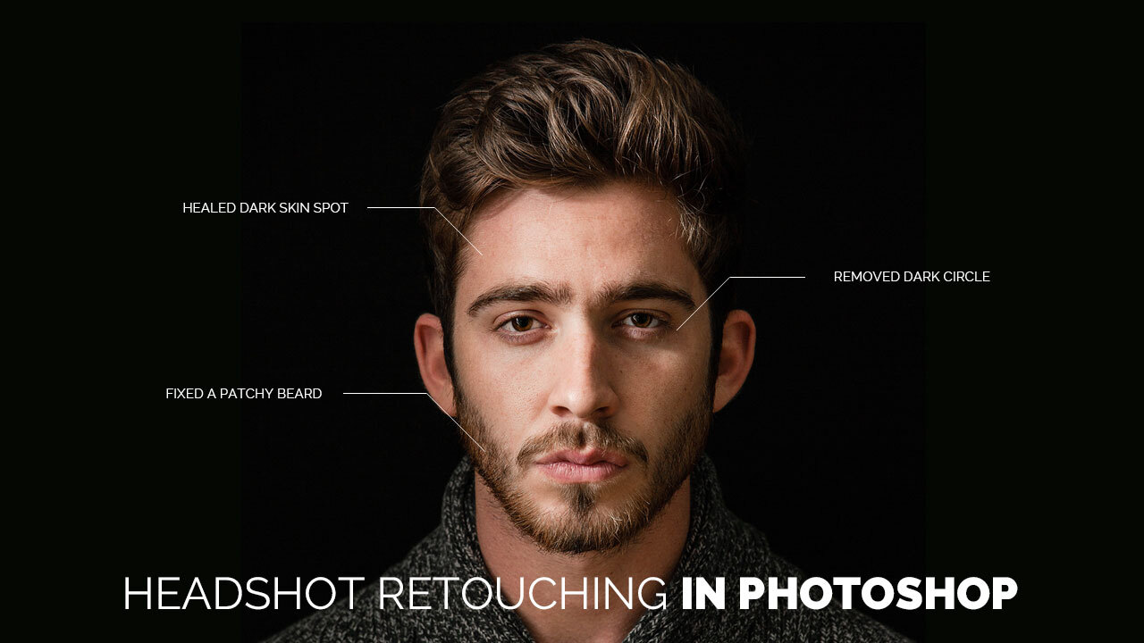 How To Do Headshot Retouching In Photoshop_Clipping World