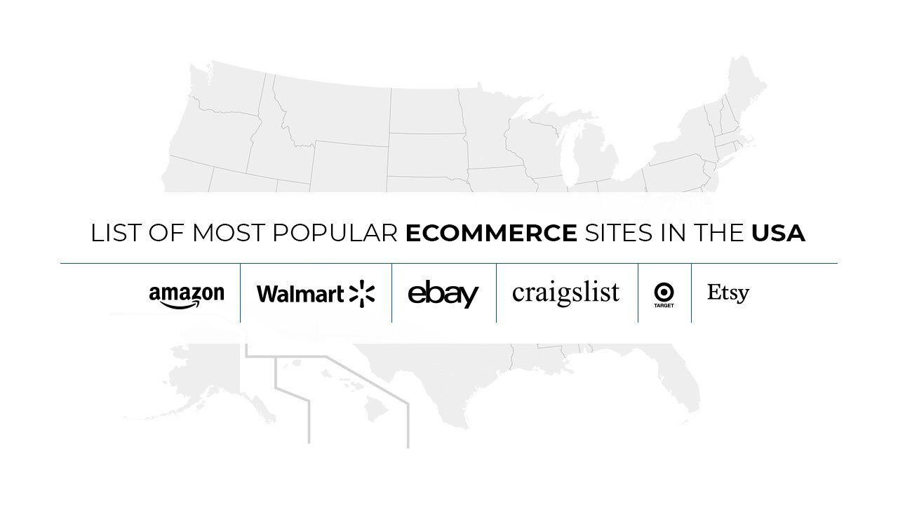 Popular e-commerce sites in the USA