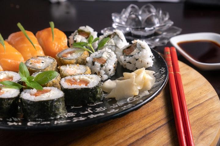 Foods on plate