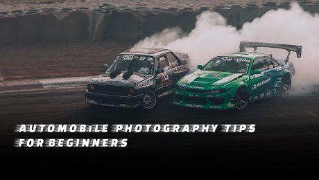 Automobile photography - Automobile photography tips
