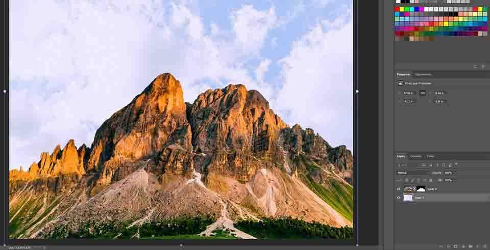 adding sky to image