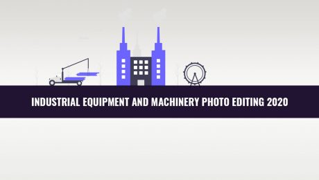 industrial uquipment and machinery photo editing banner