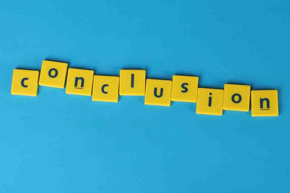 conclusion (Online Photography Courses)