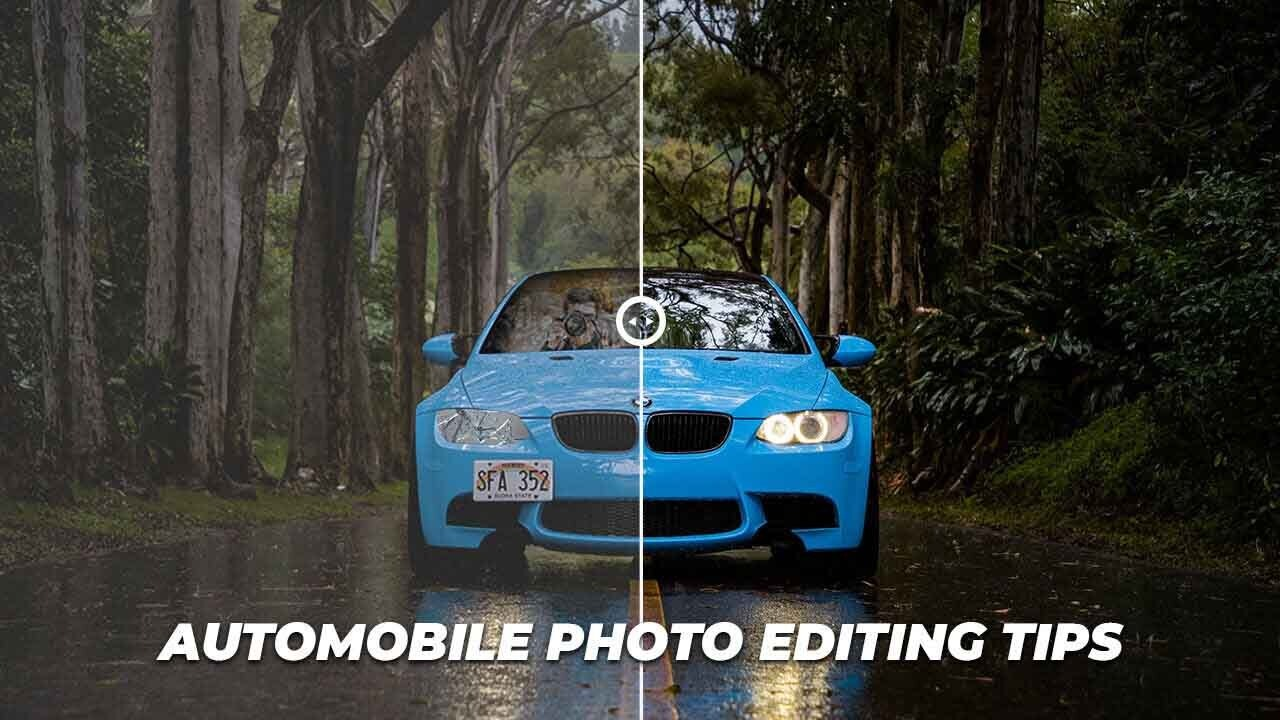 auto mobile image editing