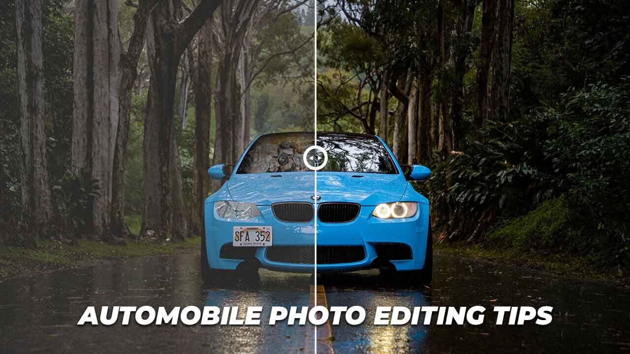 automobile photo editing features image
