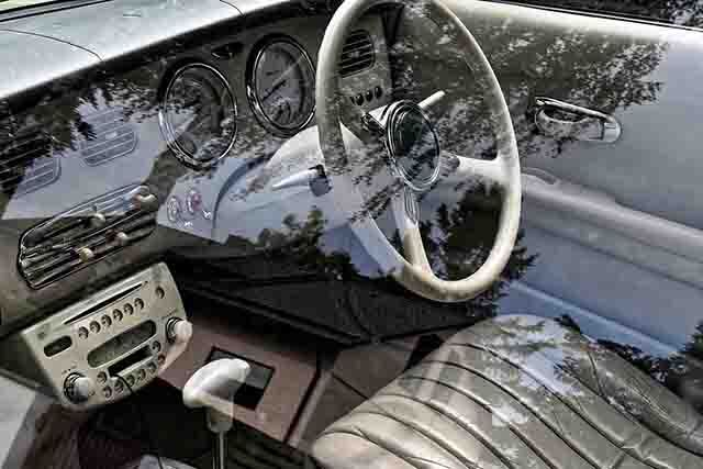 parts image editing for better show off inside of a car