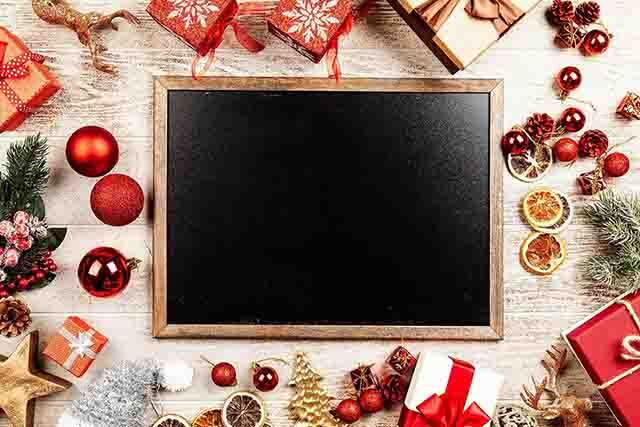 Wooden Christmas Photo frames