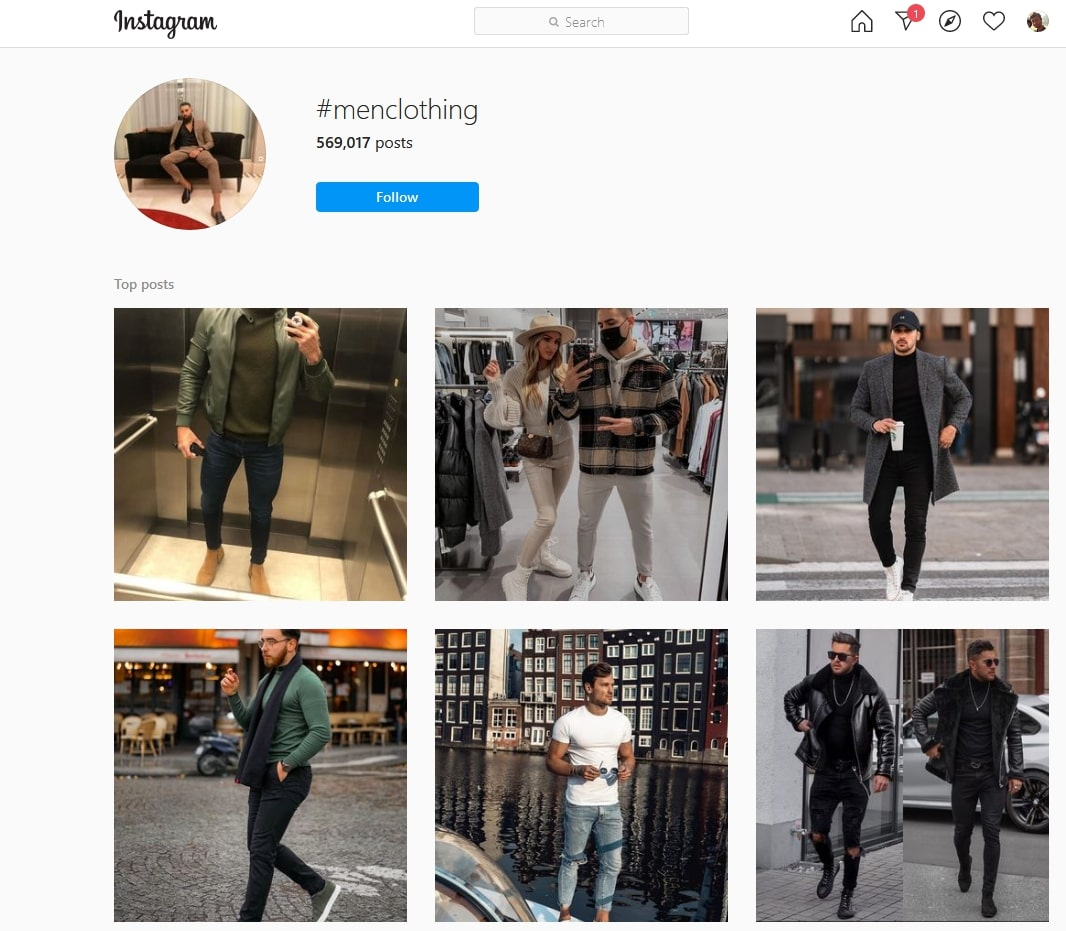 instagram trendy products