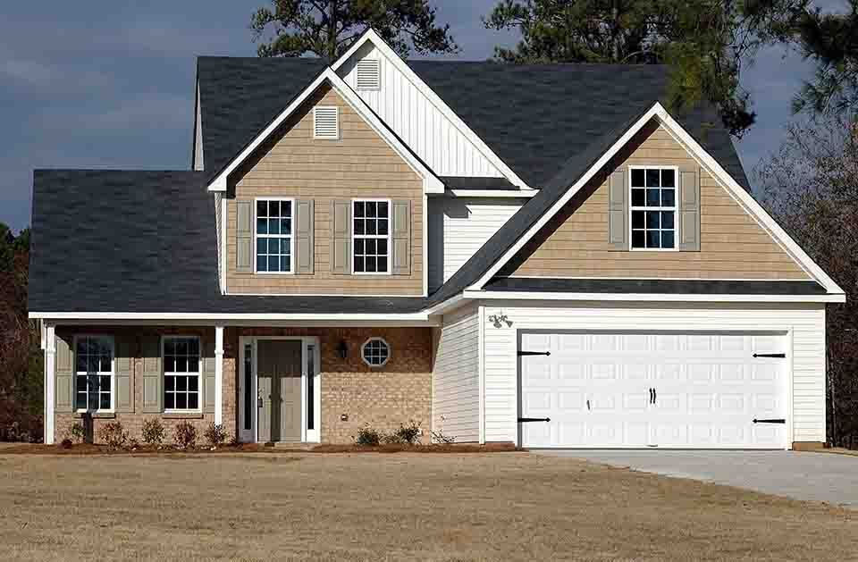 eliminate defects from house image