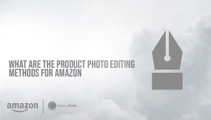 a image with pen showing what are the product photo editing methods for amazon