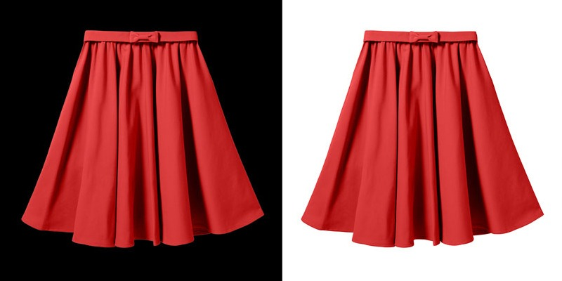 mid level clipping path