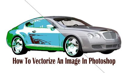 How To Vectorize An Image In Photoshop
