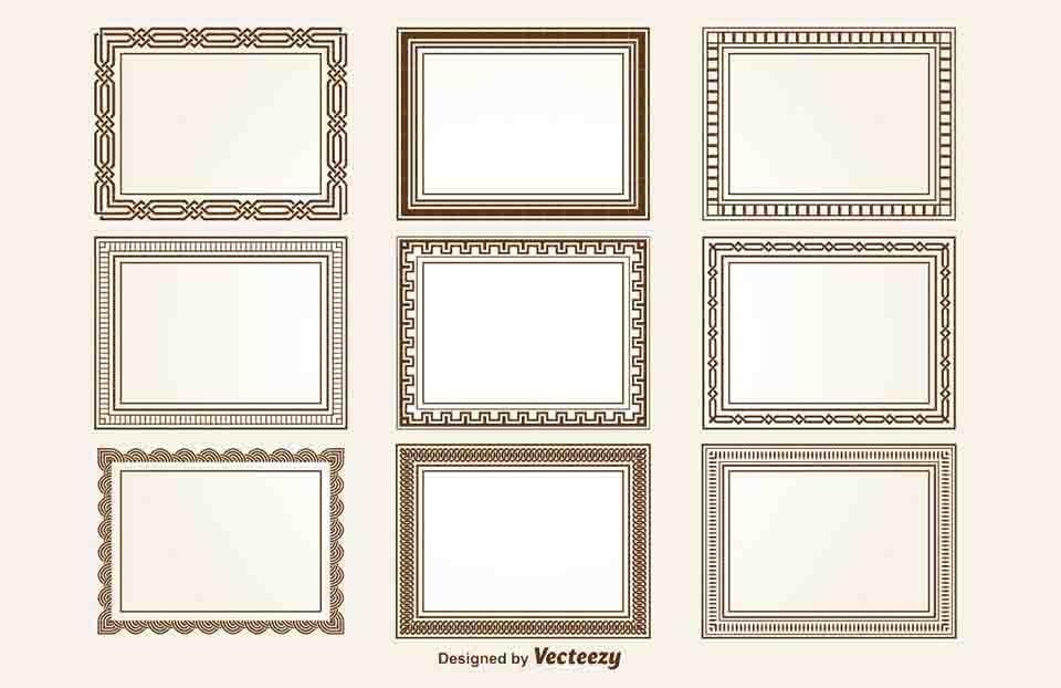 decorative Square frame