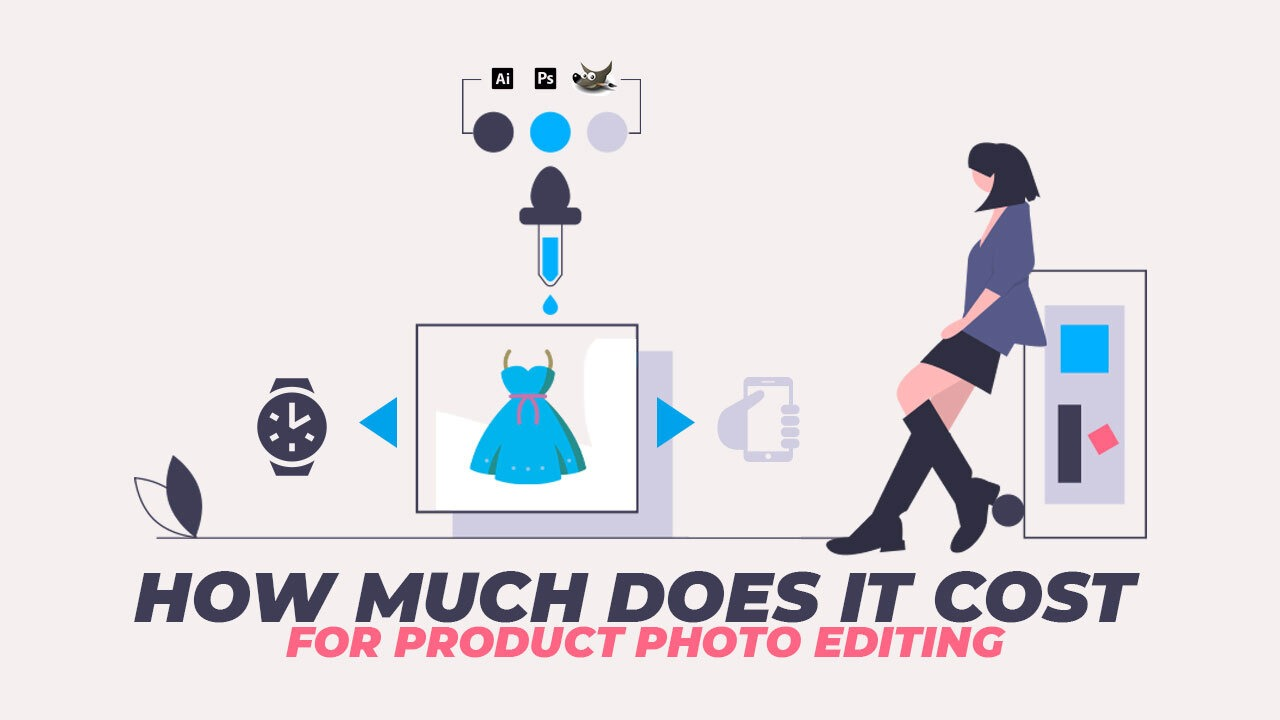 How much does it cost for product photo editing