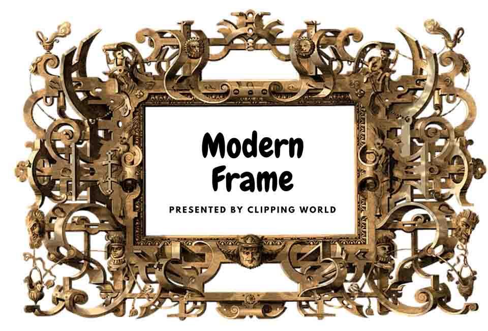 modern frame for photoshop