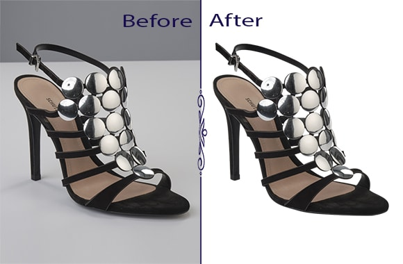 Shoe Photo Editing Services Advance Category