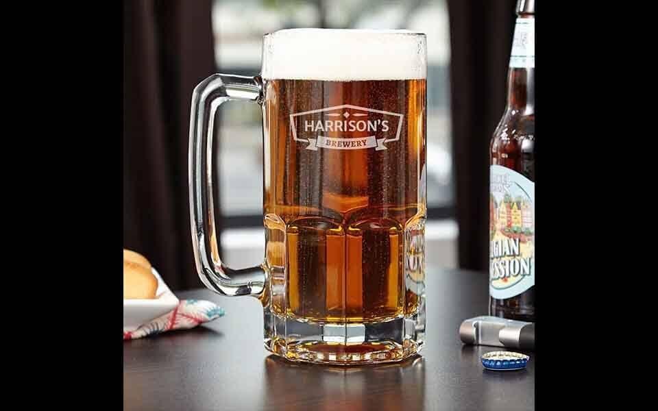A Beer Mug on the table