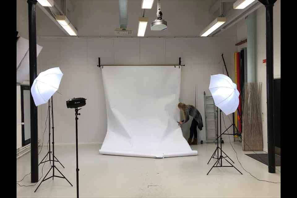 create a background for product photography