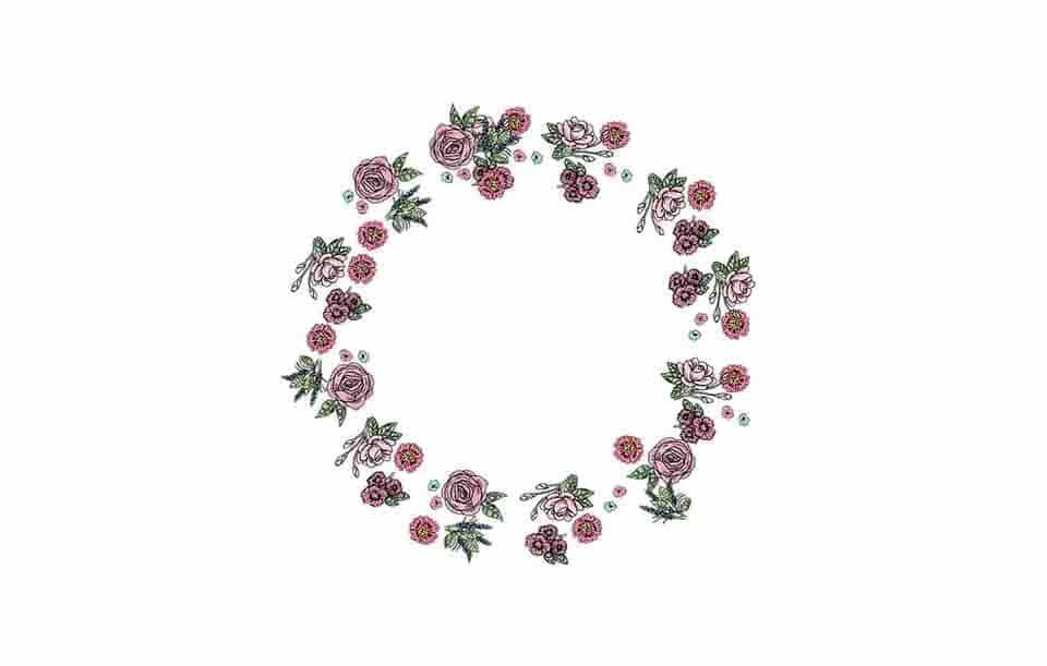 flower free frames