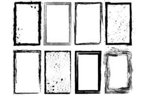 Grung photo frame